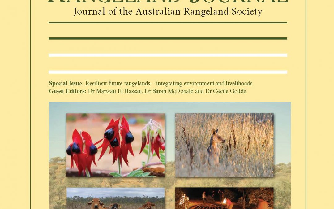 SPECIAL ISSUES OF THE RANGELAND JOURNAL
