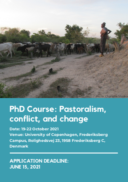 PHD COURSE: PASTORALISM, CONFLICT AND CHANGE