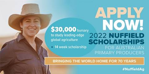 2022 NUFFIELD SCHOLARSHIPS NOW OPEN